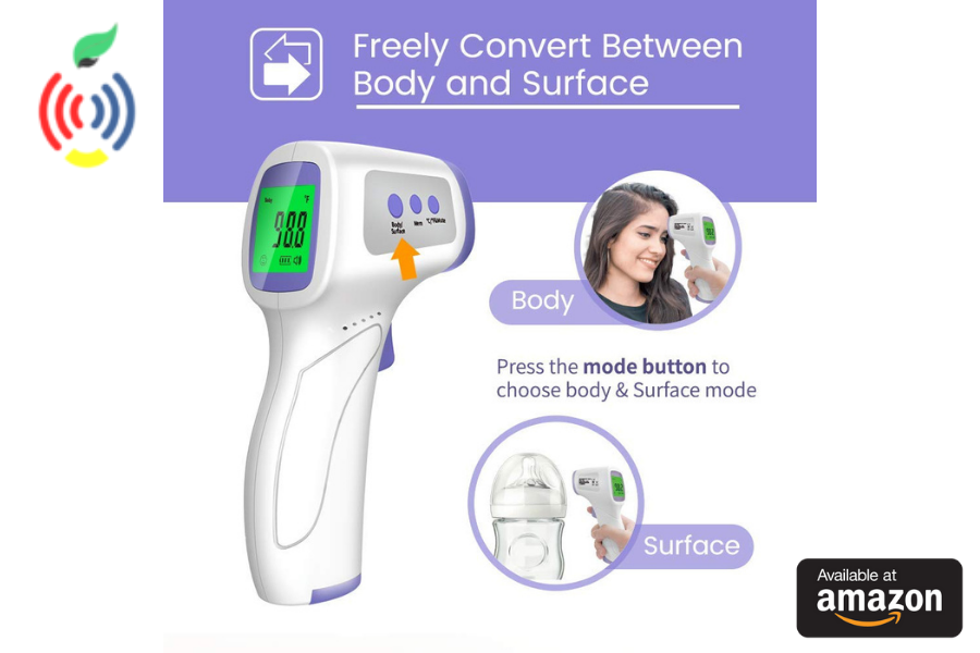 infrared thermometer forehead