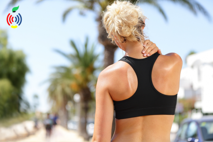 neck pain due to exercise